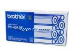 Brother PC-404RF 4 rolls of ink ribbon - Original Product