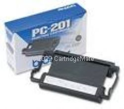 Brother PC-201 Cartridge + 1 Ribbon -Original Product