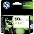 Hewlett Packard CN048AA (951XL) Extra Large Yellow Inkjet - Average 1,500 Pages