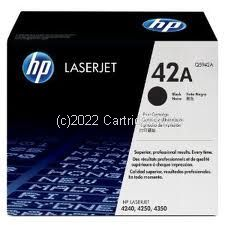 Hewlett Packard Q5942A Toner Cartridge - Avearge 10,000 Pages