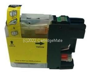 *Brother LC-135YXL Yellow Extra Large New Compatible Inkjet Cartridge - 1,200 Pages