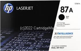 Hewlett Packard CF287A Black Toner Cartridge -  Average 9,000 Pages - Original