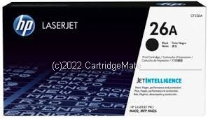 Hewlett Packard CF226A Black Toner Cartridge -  Average Yield 3,100 Pages  Original