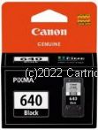 Canon PG-640 Black Ink Cartridge - Average Yield 180 Page Life - Original Product