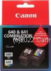 Canon PG-640+CL641 Black & Colour Inkjet TWIN Pack Cartridge - Original Product