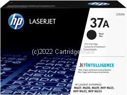 Hewlett Packard CF237A Black Toner Cartridge - Average Yield 11,000 Pages